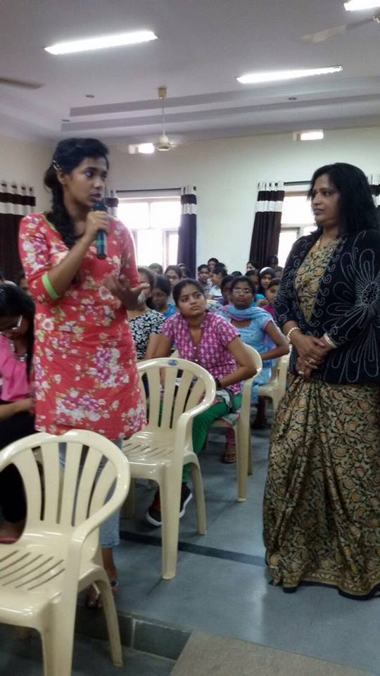 Interaction with Narayanamma College