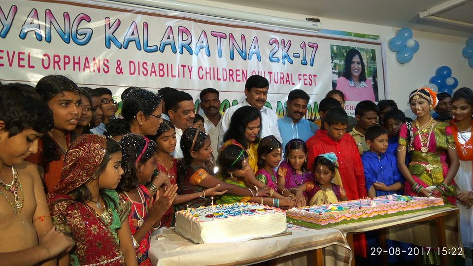 Group of Orphans and Destitute Children The Grand Birthday Celebrations