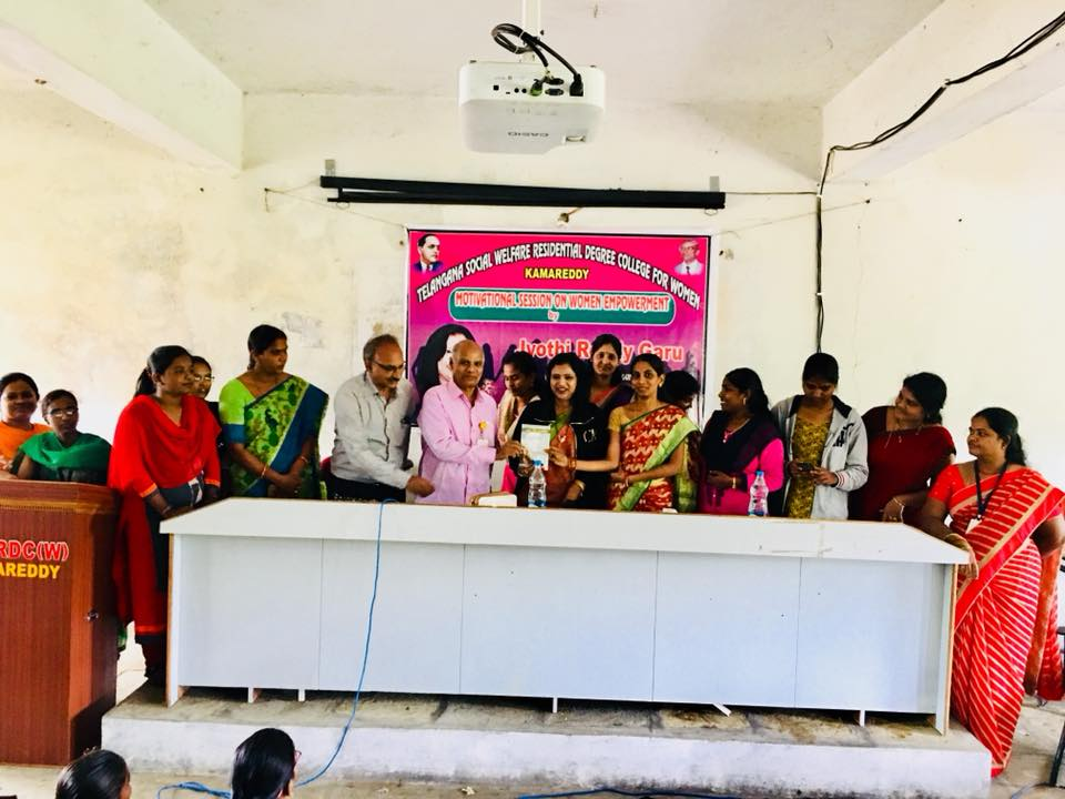 program conducted at Social Welfare Degree Residential women's college