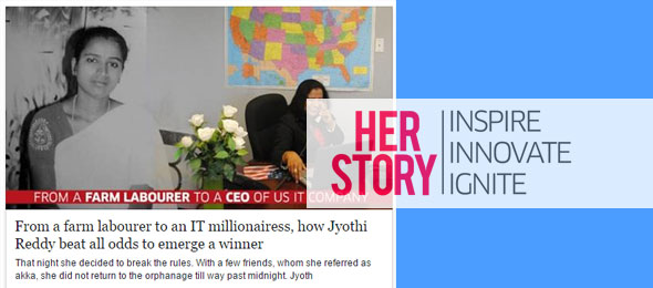 From a farm labourer to an IT millionairess, how Jyothi Reddy beat all odds to emerge a winner