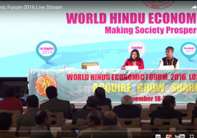World Hindu Economic Forum-2016 Live Stream