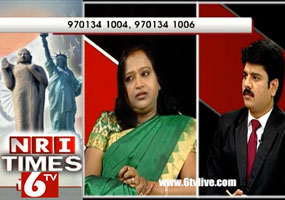 NRI Times - 6TV Interview of  Jyothi Reddy